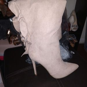 Gorgeous heeled boots